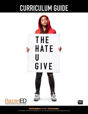 Picture of  THE HATE U GIVE - Curriculum Guide