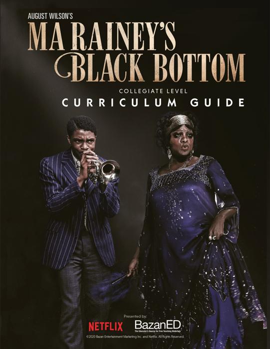 Ma Rainey's Black Bottom Curriculum Guide
